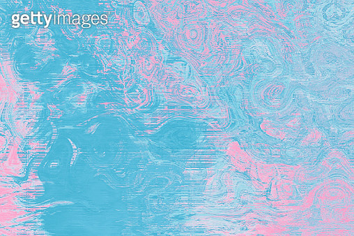 Digital Soap Bubbles blue and pink marbling texture. Abstract marbled backdrop - gettyimageskorea