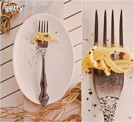 Spaghetti knot - gettyimageskorea
