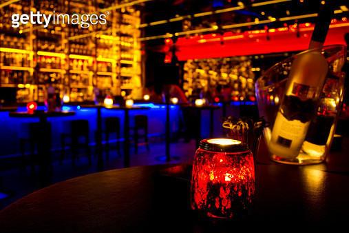 Colourful Night Club - gettyimageskorea