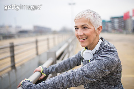 Love being active. - gettyimageskorea