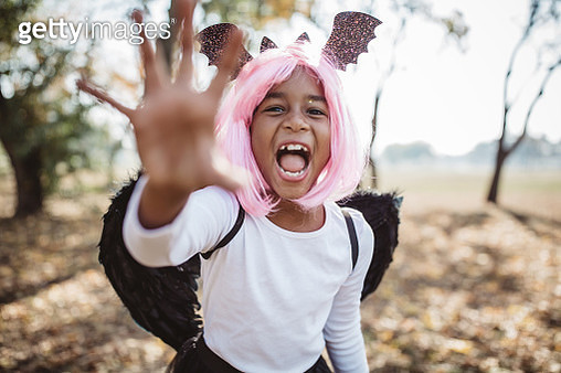Trick or treat time - gettyimageskorea