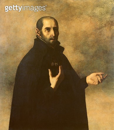 <b>Title</b> : St. Ignatius Loyola (oil on canvas)Additional InfoLopez de Loyola (1491-1556); Spanish founder of the Jesuits;<br><b>Medium</b> : <br><b>Location</b> : Private Collection<br> - gettyimageskorea