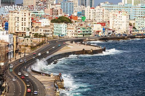 Malecon, Havana, Cuba - gettyimageskorea