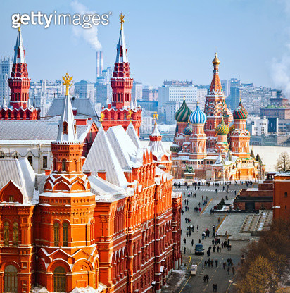 Heart of Moscow - gettyimageskorea