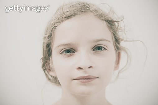 Portrait of a child - gettyimageskorea