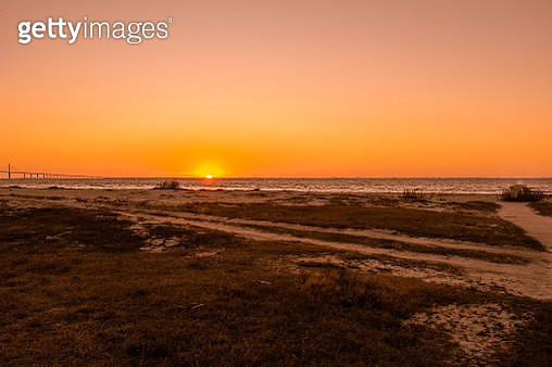 Sunrise on the Gulf of Mexico - gettyimageskorea