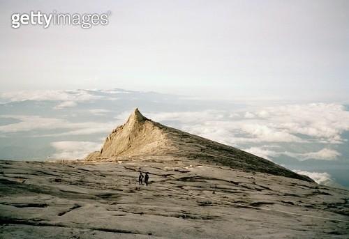 View of Mount Kinabalu, Sabah, Borneo - gettyimageskorea