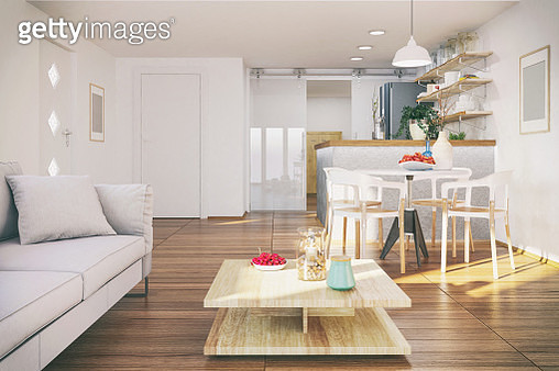 Small functional apartment - gettyimageskorea