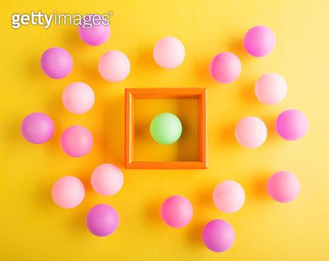 Quarantined little green ball - gettyimageskorea