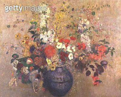<b>Title</b> : Bouquet of flowers<br><b>Medium</b> : oil on canvas<br><b>Location</b> : Galerie Daniel Malingue, Paris, France<br> - gettyimageskorea