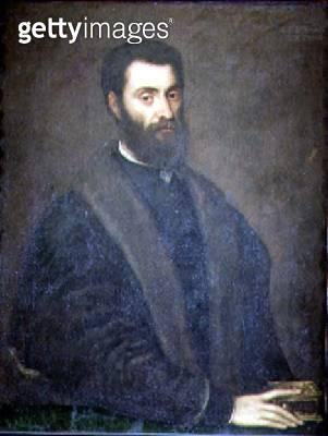<b>Title</b> : Portrait of Sperone Speroni, 1544<br><b>Medium</b> : oil on canvas<br><b>Location</b> : Museo Civico, Treviso, Italy<br> - gettyimageskorea