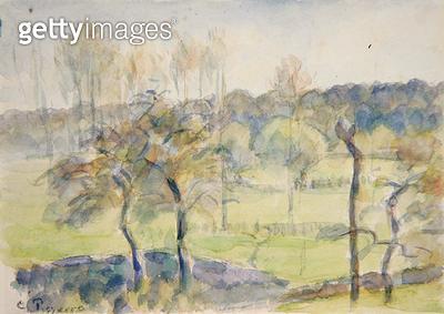 <b>Title</b> : Spring (w/c over black chalk on paper)<br><b>Medium</b> : watercolour over black chalk on paper<br><b>Location</b> : Fitzwilliam Museum, University of Cambridge, UK<br> - gettyimageskorea