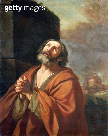 <b>Title</b> : St. Peter<br><b>Medium</b> : <br><b>Location</b> : Palazzo Venezia, Rome, Italy<br> - gettyimageskorea