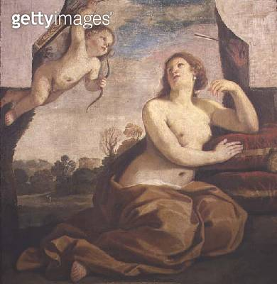 <b>Title</b> : Venus and Cupid<br><b>Medium</b> : oil on canvas<br><b>Location</b> : Accademia di San Luca, Rome, Italy<br> - gettyimageskorea