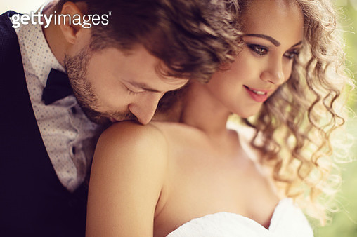 Young couple enjoying their love - gettyimageskorea