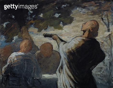 <b>Title</b> : The Serenade, c.1858 (panel)<br><b>Medium</b> : oil on panel<br><b>Location</b> : National Gallery of Scotland, Edinburgh, Scotland<br> - gettyimageskorea