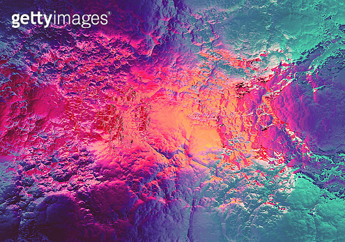 Digital Soap Bubbles marbling texture. Abstract marbled backdrop - gettyimageskorea
