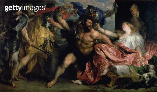 <b>Title</b> : The Arrest of Samson, c.1628/30<br><b>Medium</b> : oil on canvas<br><b>Location</b> : Kunsthistorisches Museum, Vienna, Austria<br> - gettyimageskorea