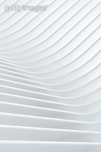 Close up of white architectural pattern - gettyimageskorea