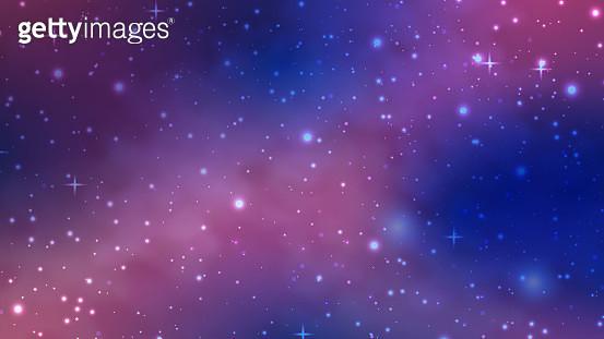 Galaxy Background - gettyimageskorea