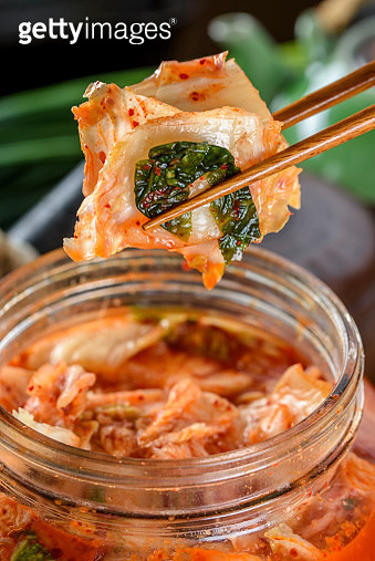 Freshly Made kimchi - gettyimageskorea