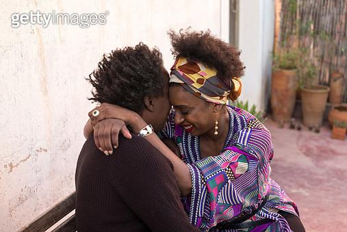 A Couple hugging - gettyimageskorea