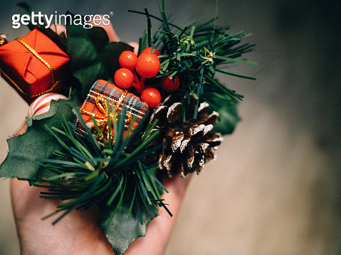 Accessories and Christmas decoration - gettyimageskorea