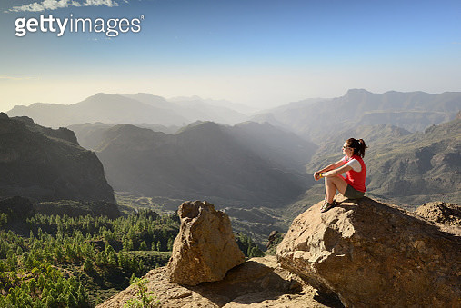 Travel in Gran Canaria / Grand Canary island, Atlantic ocean, Spain - gettyimageskorea