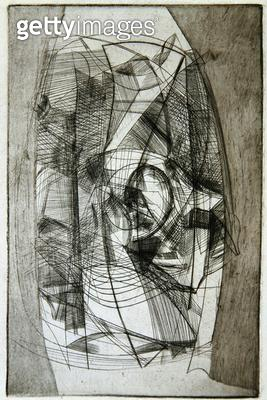 Abstract/ 1955 (etching) - gettyimageskorea