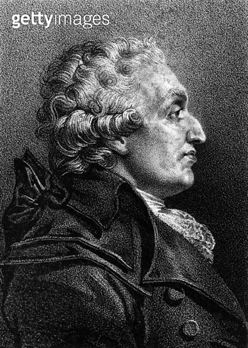 MARQUIS de CONDORCET /n(1743-1794). French philosopher, mathematician, and politician. Lithograph, French, 19th century. - gettyimageskorea