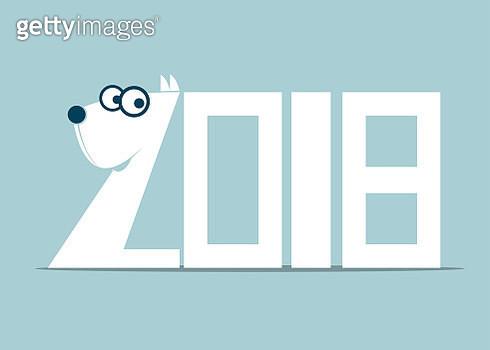 Lunar New Year symbol of dog - gettyimageskorea