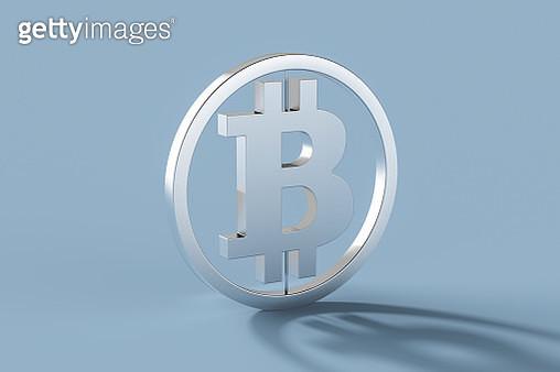 bitcoin symbol,3d render - gettyimageskorea