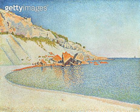 <b>Title</b> : Cote d'Azur, 1889<br><b>Medium</b> : oil on canvas<br><b>Location</b> : Haags Gemeentemuseum, The Hague, Netherlands<br> - gettyimageskorea