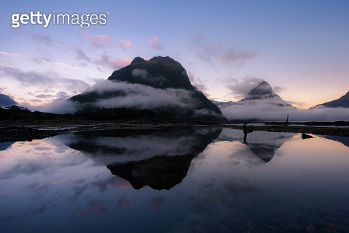 Milford Sound, New Zealand - gettyimageskorea
