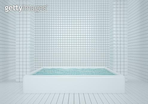 3D illustration tiles wall interiors backgrounds - gettyimageskorea