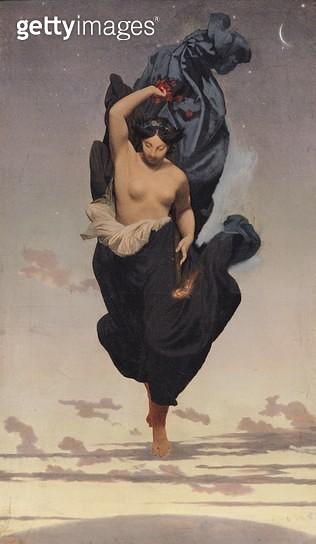 <b>Title</b> : Night, c.1850-55 (oil on canvas)<br><b>Medium</b> : oil on canvas<br><b>Location</b> : Musee d'Orsay, Paris, France<br> - gettyimageskorea