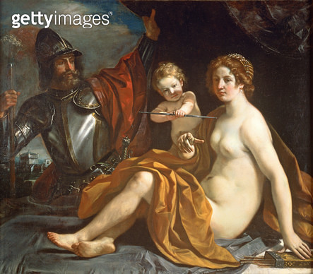 <b>Title</b> : Venus, Mars and Cupid<br><b>Medium</b> : <br><b>Location</b> : Galleria e Museo Estense, Modena, Italy<br> - gettyimageskorea