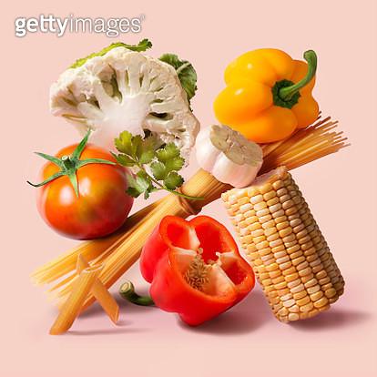 Italian food fresh ingredient still life. - gettyimageskorea