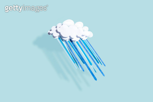 paper, paper craft, arts and crafts, elementary, weather, season, temperature, climate, art, abstract, studio, blue background, cute, humour, funny, playful, petridish, science, experiment - gettyimageskorea
