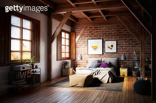 Warm and Cozy Interior - gettyimageskorea