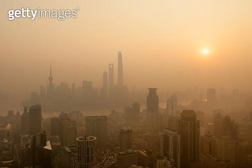Shanghai sunrise - gettyimageskorea