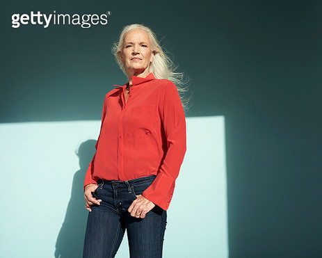 Portrait of confident mature woman - gettyimageskorea