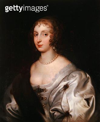 <b>Title</b> : Lady Elizabeth Stuart (oil on canvas)Additional InfoStuart (d.1673), wife of Henry Frederick Howard, 15th Earl of Arundel;<br><b>Medium</b> : oil on canvas<br><b>Location</b> : His Grace The Duke of Norfolk, Arundel Castle<br> - gettyimageskorea