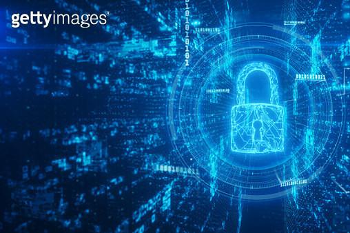 Network security padlock - gettyimageskorea