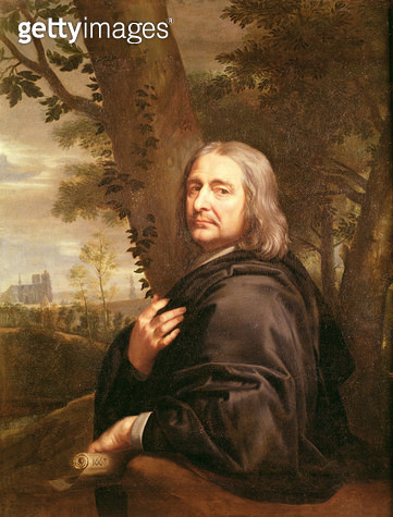 <b>Title</b> : Portrait of Philippe de Champaigne, 1668 (oil on canvas)Additional InfoPhilip (1602-74), French painter and uncle of the artist;<br><b>Medium</b> : oil on canvas<br><b>Location</b> : Louvre, Paris, France<br> - gettyimageskorea