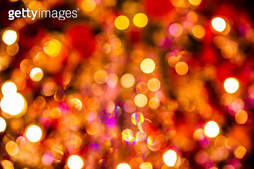 Defocused Image Of Illuminated City - gettyimageskorea