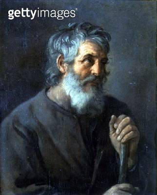 <b>Title</b> : Portrait of an old man<br><b>Medium</b> : oil on canvas<br><b>Location</b> : Palazzo Pitti, Florence, Italy<br> - gettyimageskorea