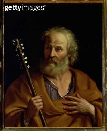 <b>Title</b> : St. Joseph<br><b>Medium</b> : <br><b>Location</b> : Palazzo Pitti, Florence, Italy<br> - gettyimageskorea
