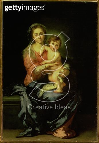 <b>Title</b> : Madonna and Child, after 1638 (oil on panel)<br><b>Medium</b> : oil on canvas<br><b>Location</b> : Palazzo Pitti, Florence, Italy<br> - gettyimageskorea