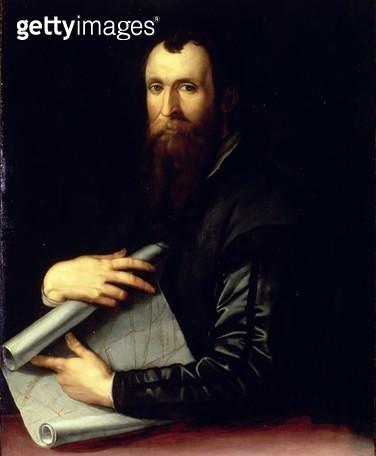 <b>Title</b> : Portrait of the engineer Luca Martini<br><b>Medium</b> : <br><b>Location</b> : Palazzo Pitti, Florence, Italy<br> - gettyimageskorea